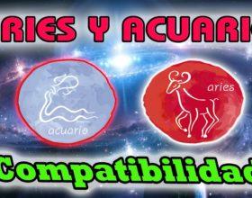 Acuario y Aries - Compatibilidad de signos